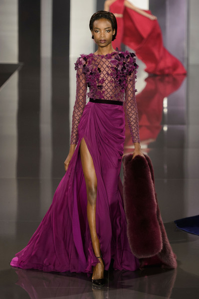 Ralph & Russo at Couture Fall 2014 [fashion model,fashion,fashion show,haute couture,clothing,dress,runway,purple,magenta,gown,dress,gown,evening gown,couture fall,haute couture,fashion,clothing,runway,ralph russo,fashion show,haute couture,fashion,ralph russo,dress,gown,evening gown,runway,fashion show,clothing,autumn]