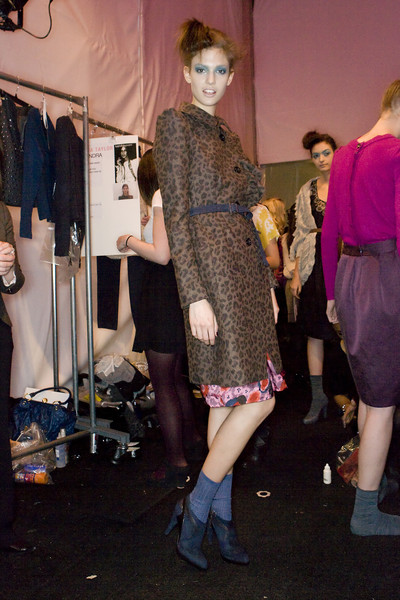 Rebecca Taylor at New York Fall 2009 (Backstage)