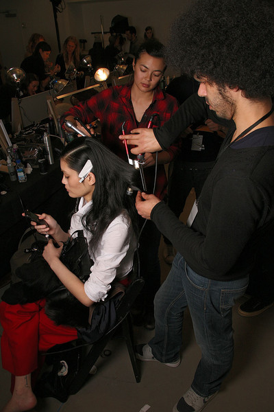 Reed Krakoff at New York Fall 2011 (Backstage)