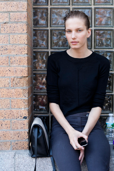 Reed Krakoff at New York Spring 2013 (Backstage)