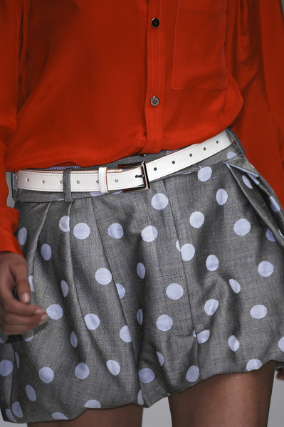 Richard Nicoll at London Spring 2007 (Details)
