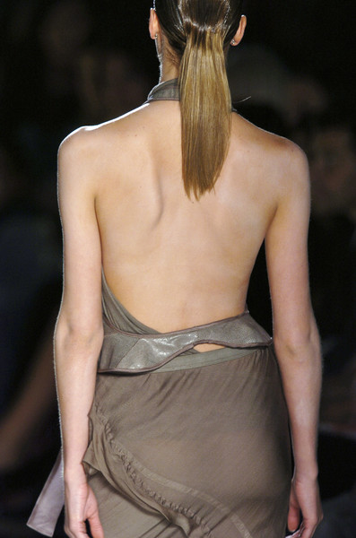 Rick Owens at Paris Spring 2006 (Details)