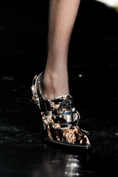 Roberto Cavalli at Milan Fall 2012 (Details)