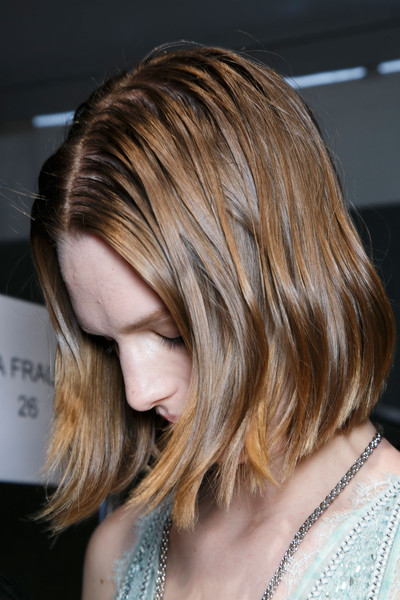Roberto Cavalli at Milan Spring 2014 (Backstage)
