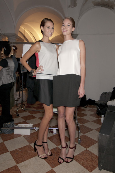 Roberto Musso at Milan Spring 2011 (Backstage)