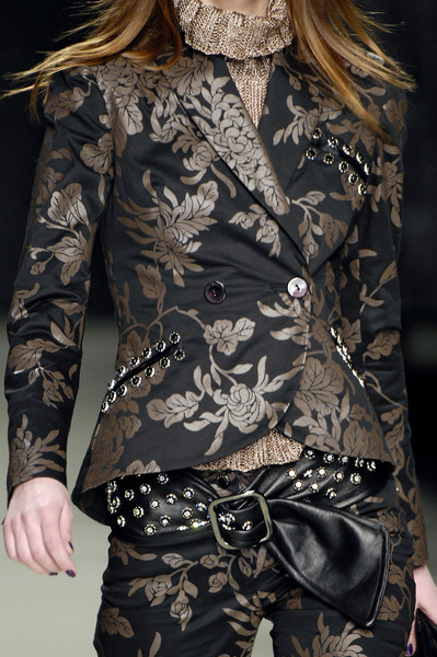 Roccobarocco at Milan Fall 2007 (Details)