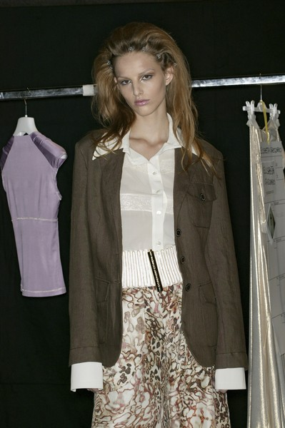 Roccobarocco at Milan Spring 2007 (Backstage)