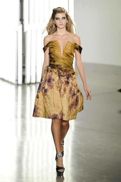 Rodarte at New York Spring 2012