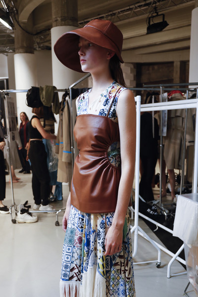 Rokh Bks Bis at Paris Spring 2020 (Backstage)