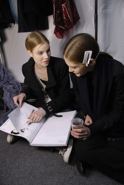 Rue du Mail at Paris Fall 2008 (Backstage)