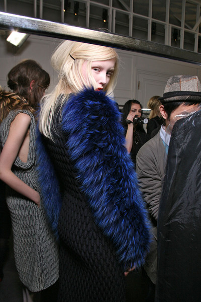 Rue du Mail at Paris Fall 2011 (Backstage)