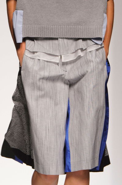 Sacai at Paris Spring 2013 (Details)