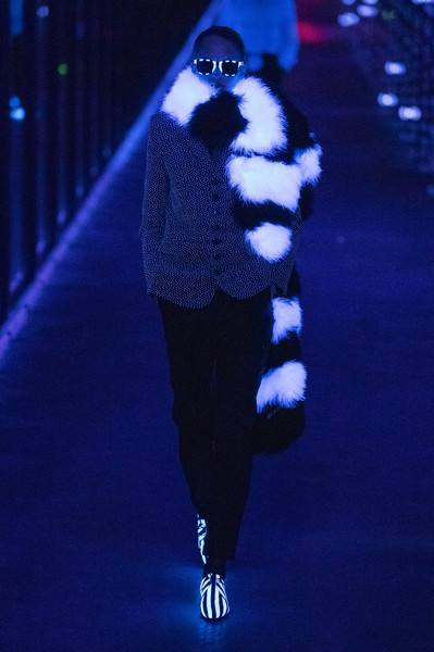 Saint Laurent at Paris Fall 2019