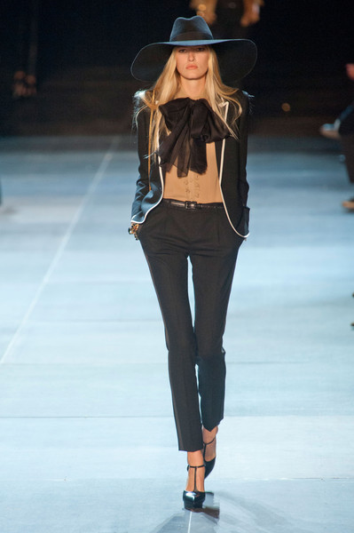 Saint Laurent at Paris Spring 2013