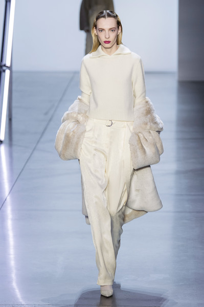 Sally LaPointe at New York Fall 2019 [fashion model,fashion,fashion show,runway,clothing,white,haute couture,shoulder,fashion design,public event,shoe,trousers,fashion,runway,white,clothing,fashion week,color,new york fashion week,fashion show,runway,fashion,trousers,color,fashion show,clothing,white,shoe,new york fashion week,fashion week]