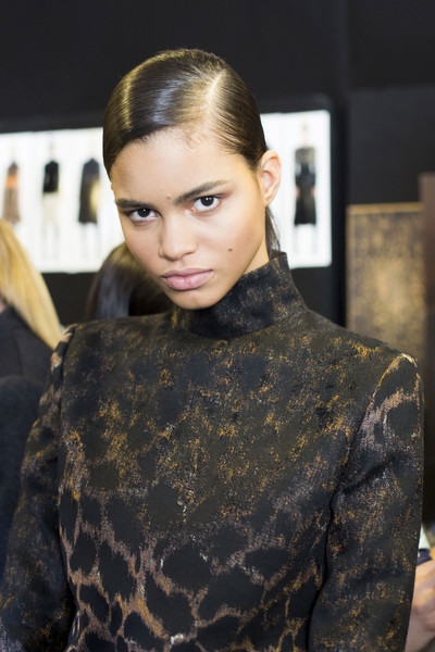 Salvatore Ferragamo at Milan Fall 2014 (Backstage)