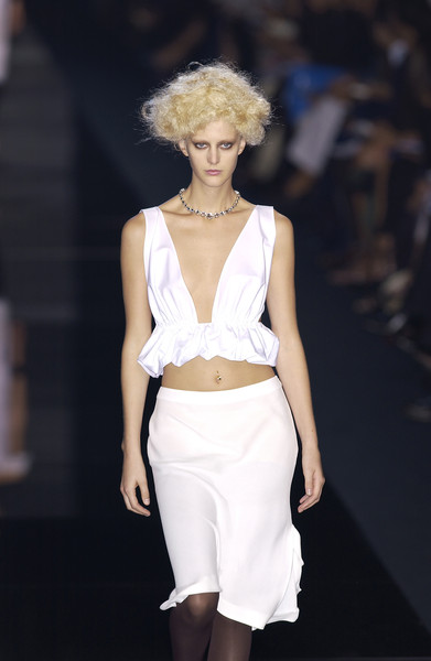 Salvatore Ferragamo at Milan Spring 2002