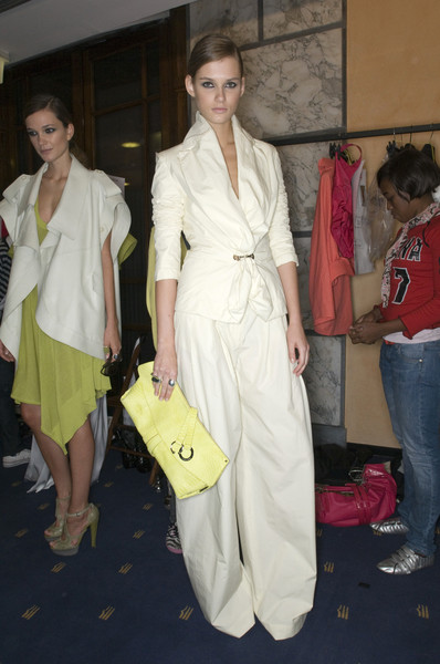 Salvatore Ferragamo at Milan Spring 2009 (Backstage)