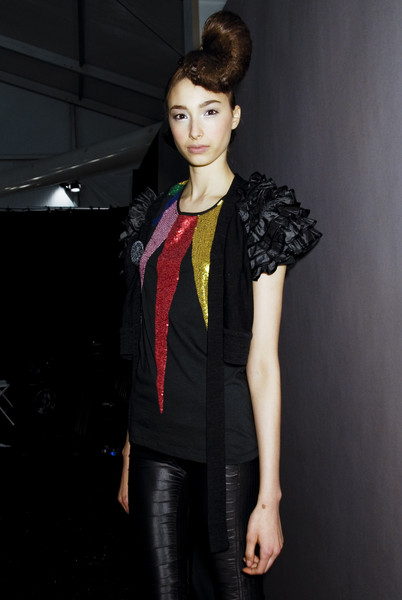 Sass & Bide at New York Fall 2008 (Backstage)