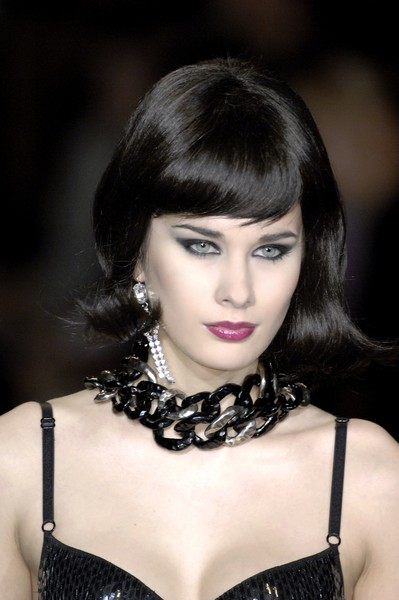 Seduzioni Diamonds Valeria Marini at Milan Fall 2007 (Details)