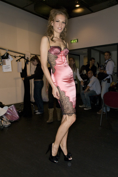 Seduzioni Diamonds Valeria Marini at Milan Spring 2009 (Backstage)