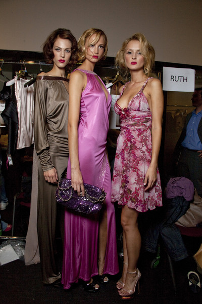 Seduzioni Diamonds Valeria Marini at Milan Spring 2010 (Backstage)
