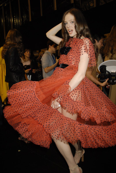Sonia Rykiel at Paris Spring 2008 (Backstage)