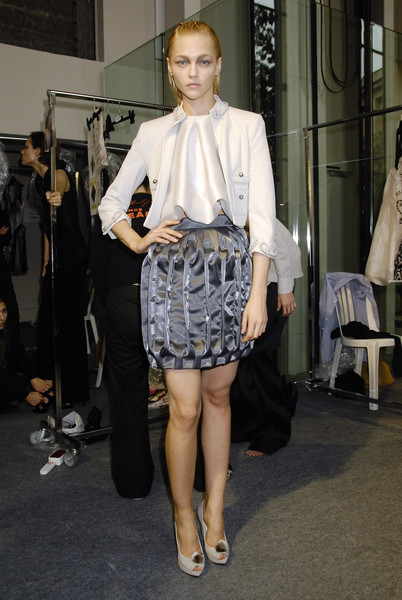 Sophia Kokosalaki at Paris Spring 2008 (Backstage)