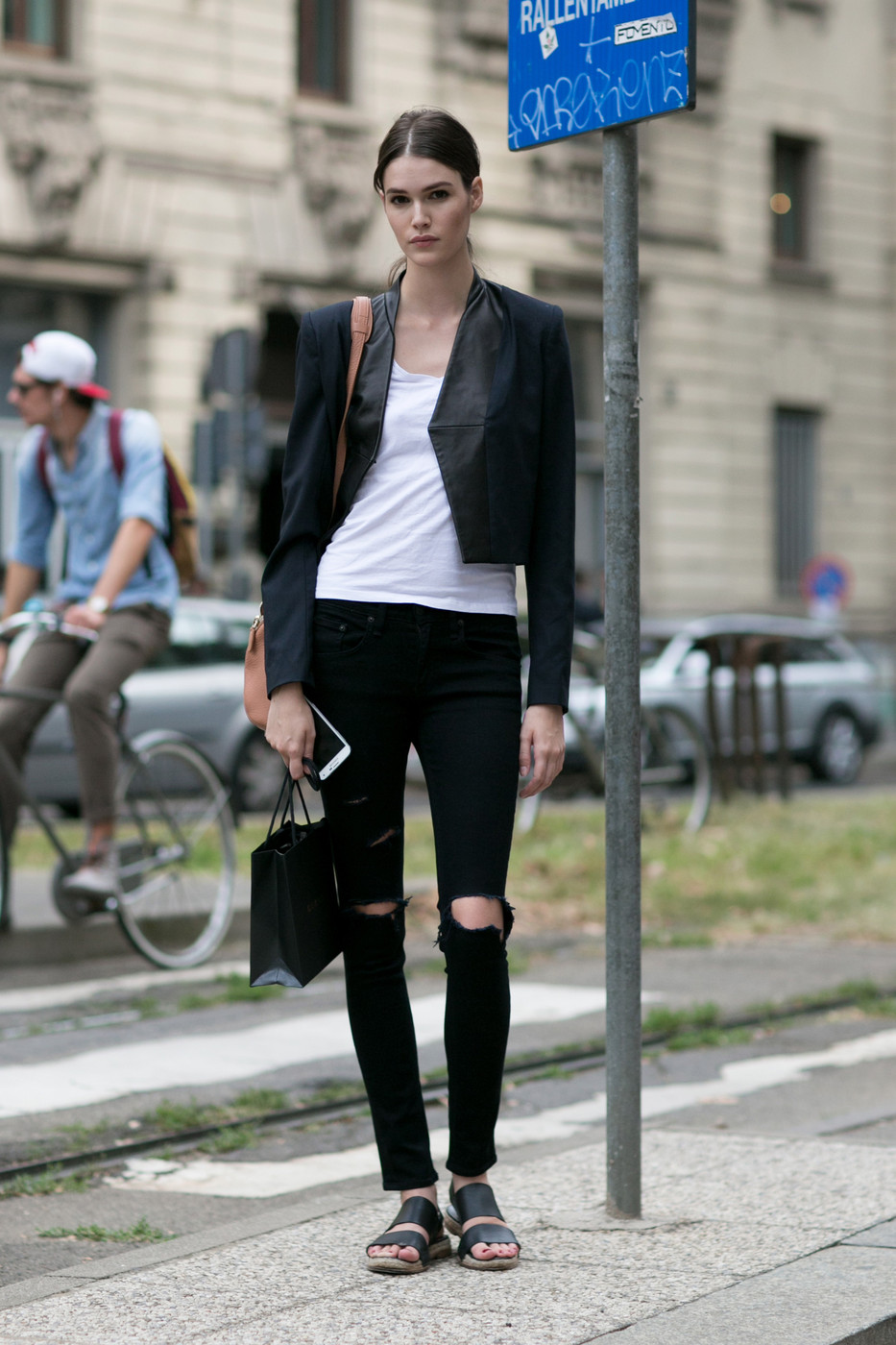 Simple Chic Best Street Style At Milan Fashion Week Spring 2015 Livingly
