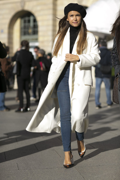 All About the Beret - The Street Style at Paris Couture Week Is To ... eed4aa175ee