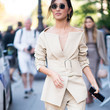 Off-the-Shoulder Suit