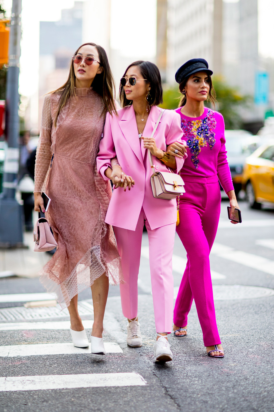 Pink Ladies 60 Creative Outfit Ideas From New York Fashion Week Livingly
