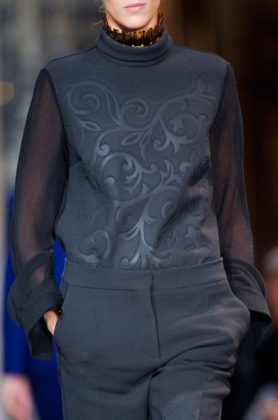 Stella McCartney at Paris Fall 2012 (Details)