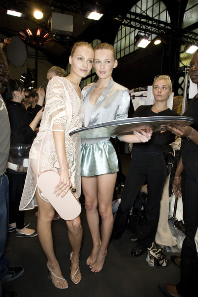Stella McCartney at Paris Spring 2009 (Backstage)