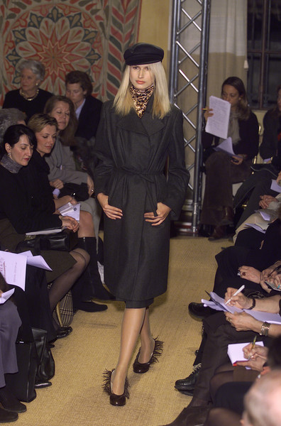 Stephan Janson at Milan Fall 2001