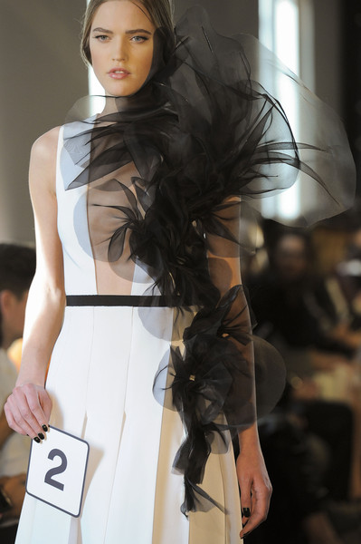 Stéphane Rolland at Couture Spring 2016 (Details)