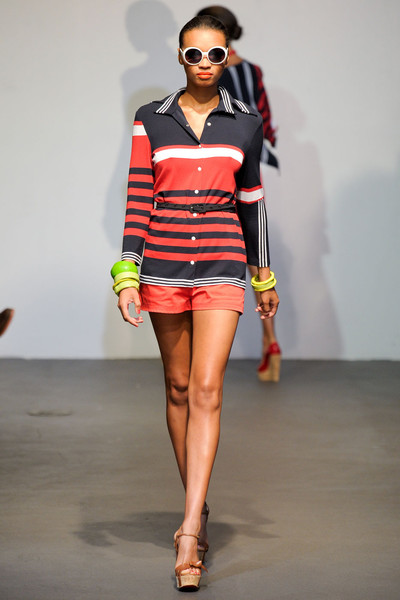 Stephen Burrows at New York Spring 2012