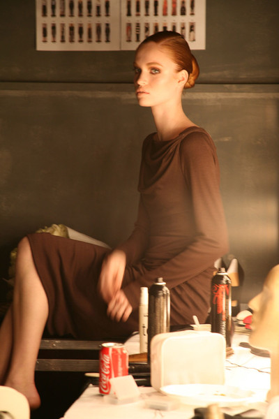 Talbot Runhof at Paris Fall 2011 (Backstage)