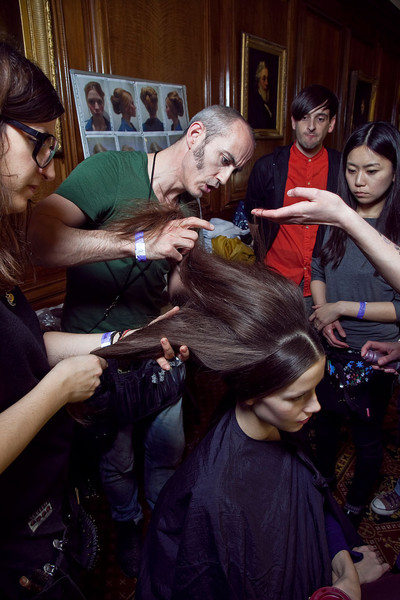 Temperley London at London Fall 2012 (Backstage)