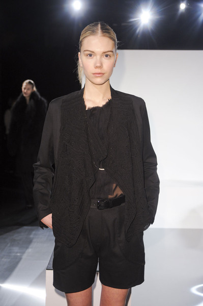 Tess Giberson at New York Fall 2011