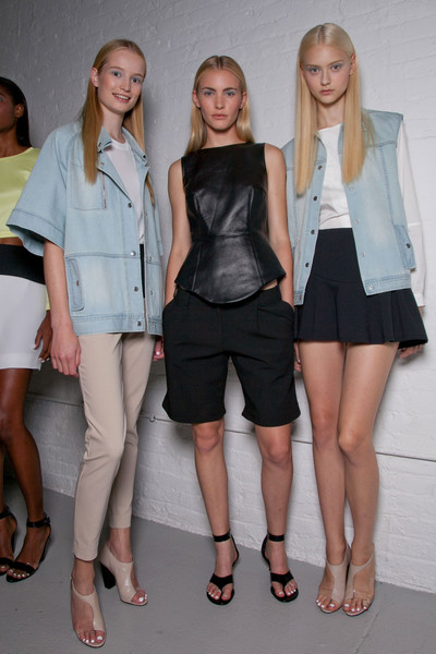 Tibi at New York Spring 2013 (Backstage)