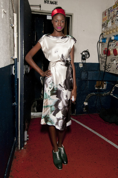 Tim Van Steenbergen at Paris Spring 2011 (Backstage)
