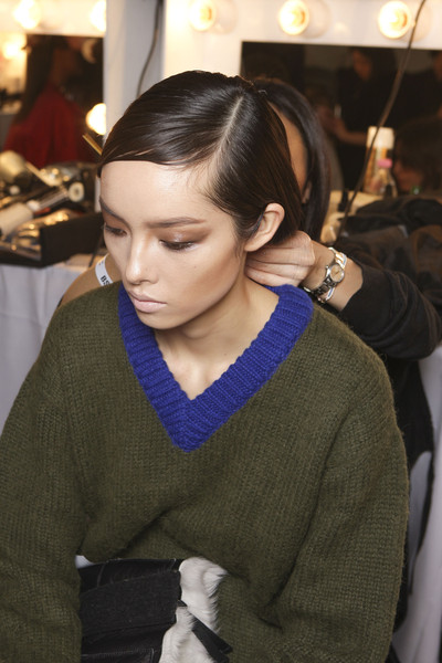 Tom Ford at London Fall 2013 (Backstage)
