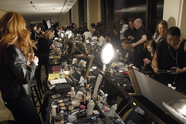 Tommy Hilfiger at New York Fall 2008 (Backstage)
