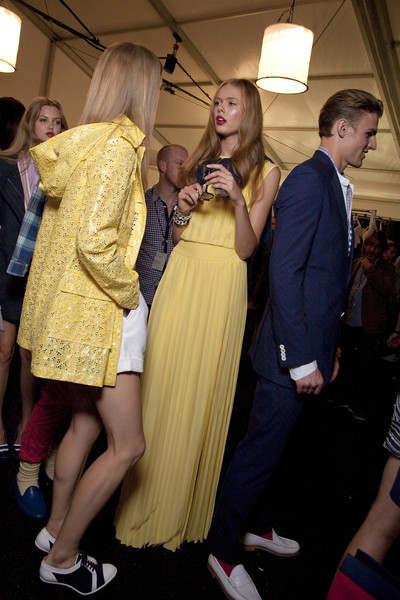 Tommy Hilfiger at New York Spring 2011 (Backstage)