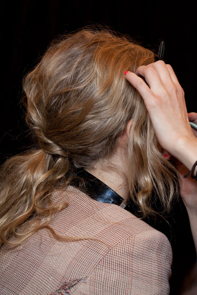 Tracy Reese at New York Fall 2012 (Backstage)