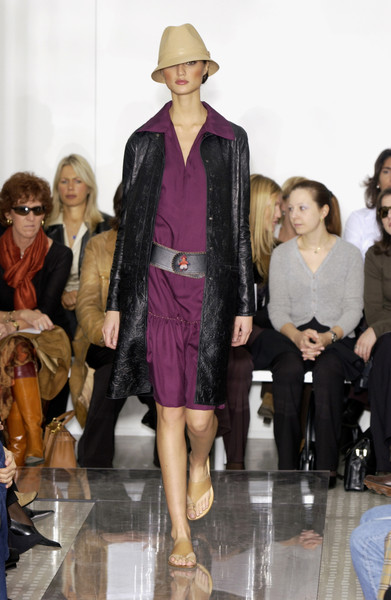 Trussardi 1911 at Milan Spring 2002