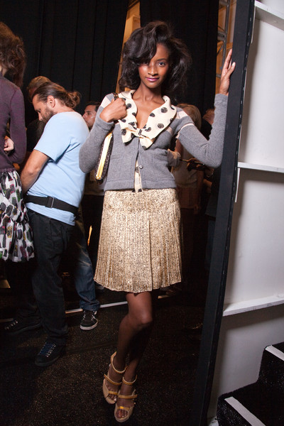 Tuleh at New York Spring 2010 (Backstage)