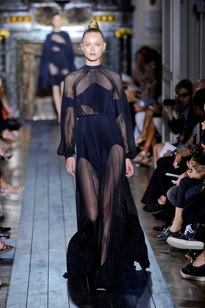 Valentino at Couture Fall 2012