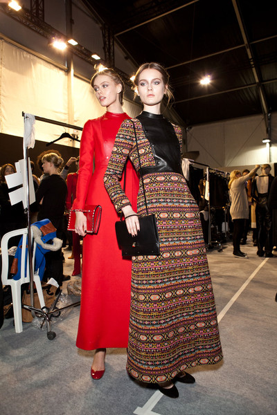 Valentino at Paris Fall 2012 (Backstage) [clothing,fashion,fashion design,costume,dress,event,outerwear,haute couture,tradition,fashion show,socialite,valentino,fashion,haute couture,tradition,model,runway,clothing,paris fashion week,fashion show,haute couture,fashion show,runway,fashion,model,socialite,tradition]